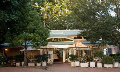 Poets Cafe dining Sunshine Coast, Queensland