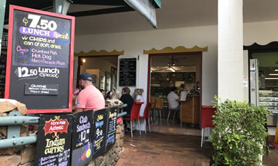 Shali's Cafe dining Sunshine Coast, Queensland
