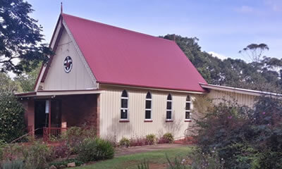 Montville Uniting Church service Sunshine Coast, Queensland