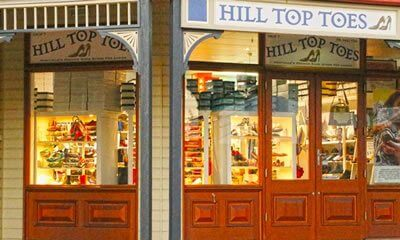Hill Top Toes shopping Sunshine Coast, Queensland