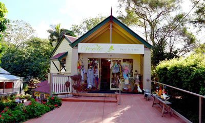 Verde Of Montville shopping Sunshine Coast, Queensland