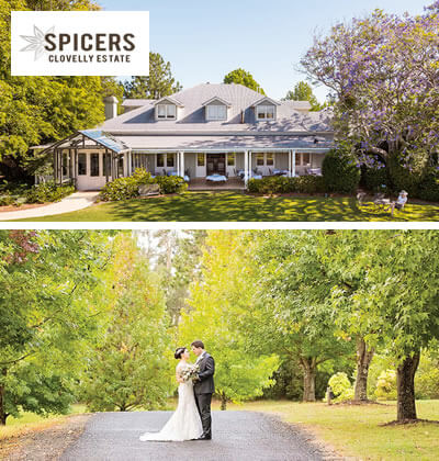 Spicers Clovelly Estate weddings Sunshine Coast, Queensland